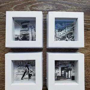 Set of 4 Miniature Frame
